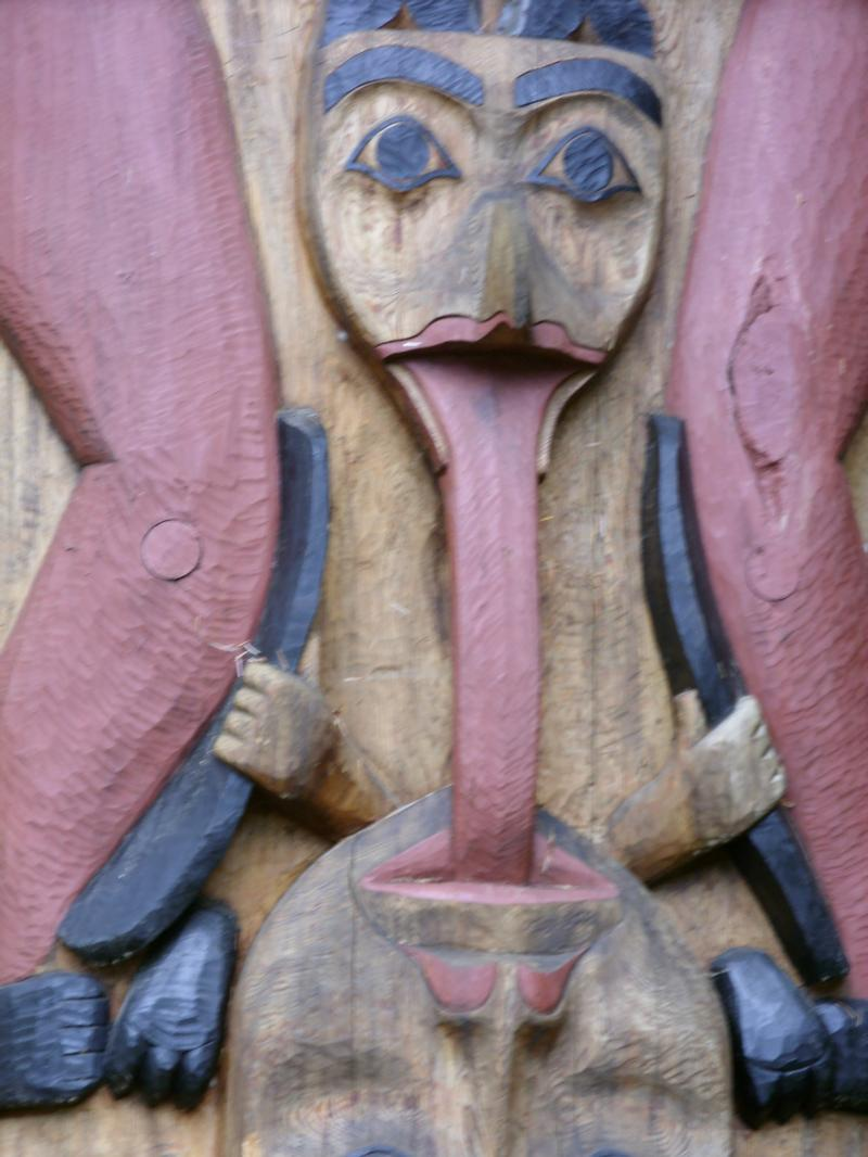 Sitka National Historic Park Totem